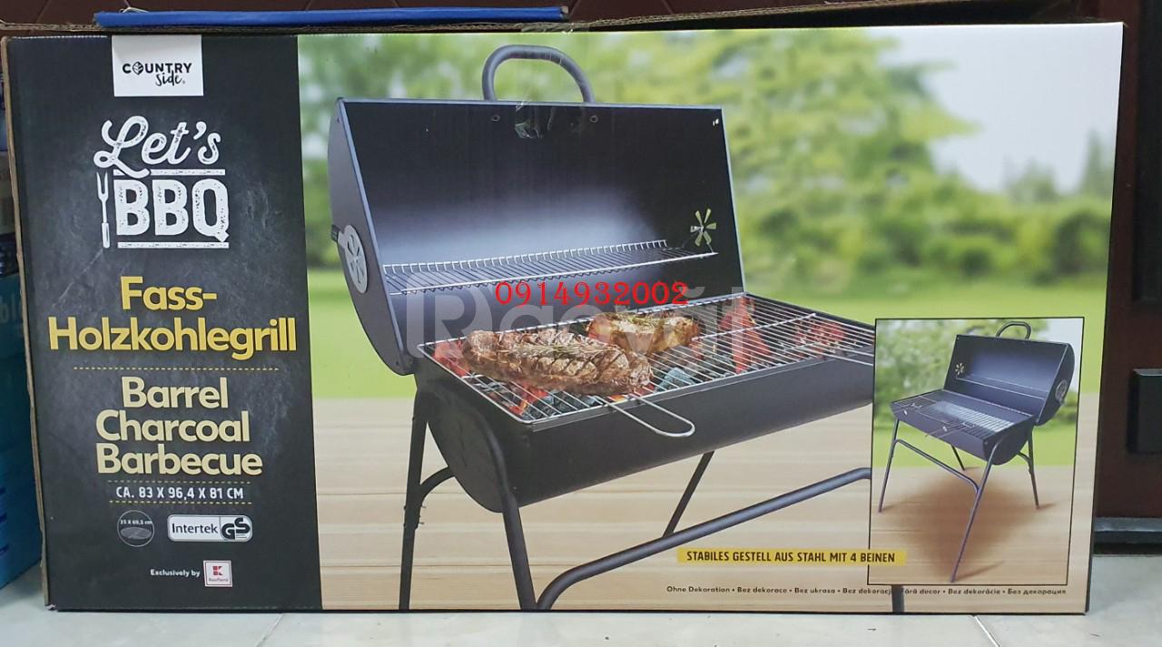 Bếp nướng than hoa ngoài trời Barrel Charcoal Barbecue