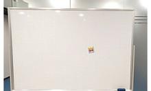 Bảng từ trắng Hàn Quốc có chân di động, 80x120cm, tặng kèm phụ kiện