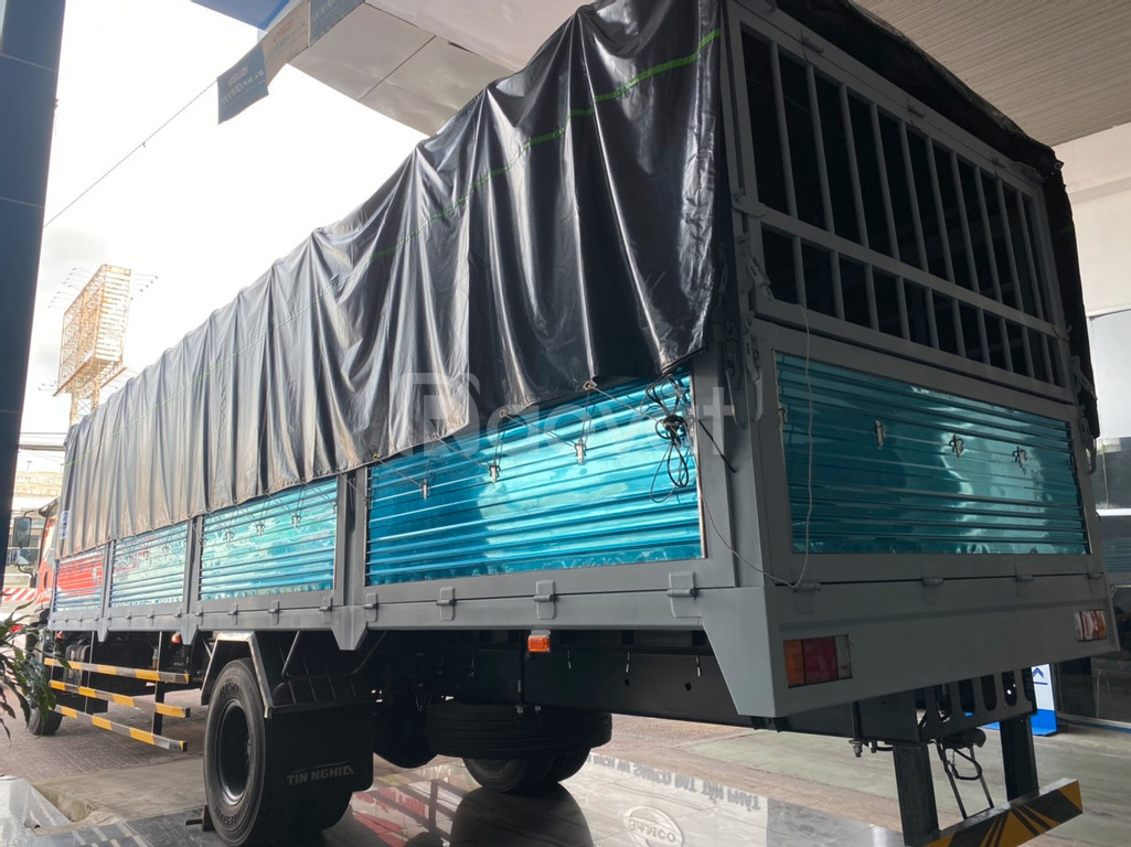 Isuzu 7.5t thùng dài 9.6m giao ngay, hỗ trợ trả góp lãi suất ưu đãi