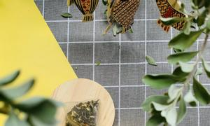 Trà hoa Hibiscus, Yamasantea, trà hoa thảo mộc Công nghệ Nhật Bản