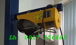 Tời điện mini PA200, PA400, PA500, PA600, PA1000 cáp 20m, 30m điện 1Ph