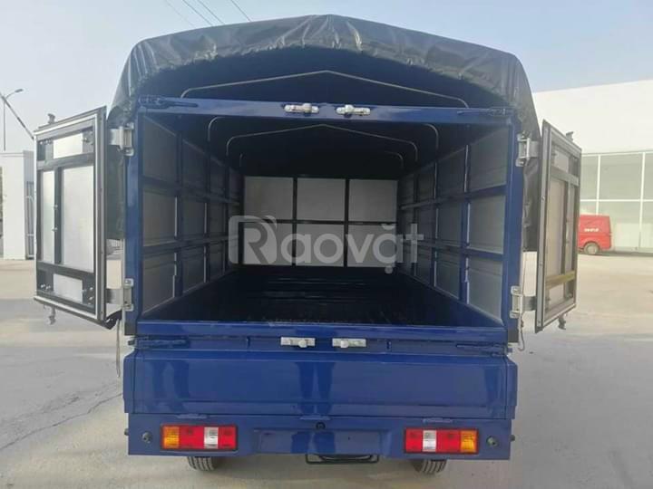 Xe tải giá rẻ tại Trà Vinh, TMT K01S, thùng mui bạt, tải 930 kg