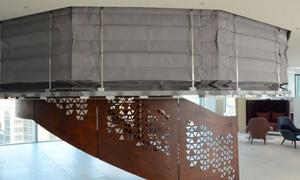Màn cuốn vải ngăn cháy ngăn khói có chứng chỉ PCCC ei60