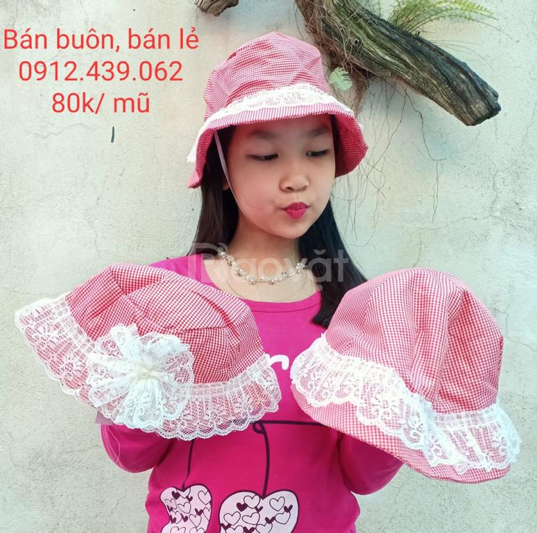 Thiết kế, bán buôn, bán lẻ mũ vải thời trang siêu hot