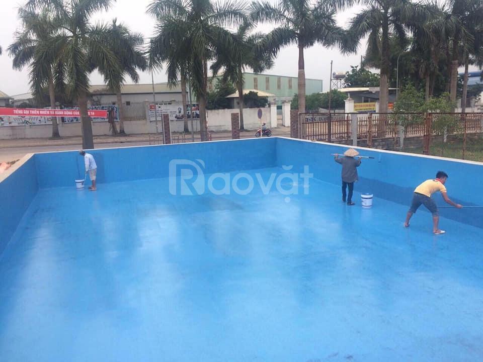 Nhà thầu sơn chuyên nhận thi công sơn cho hồ bơi chất lượng giá rẻ