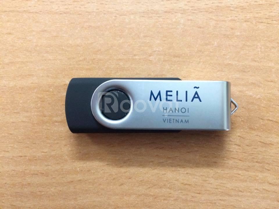 USB kim loại khắc, in ấn logo theo yêu cầu