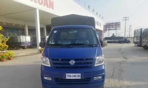 Xe tải giá rẻ tại Trà Vinh, DFSK K01S, thùng mui bạt, tải 930 kg