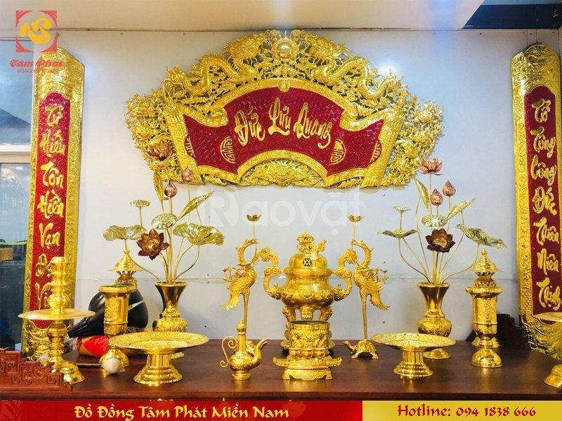 Chọn đồ đồng thờ cúng chất lượng tại Tâm Phát Miền Nam quận 5, TpHCM