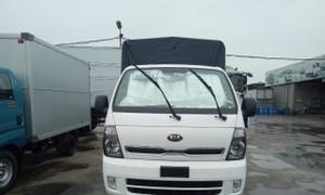 Xe tải Thaco Kia Frontier K200 thùng bạt 1,9T hỗ trợ trả góp