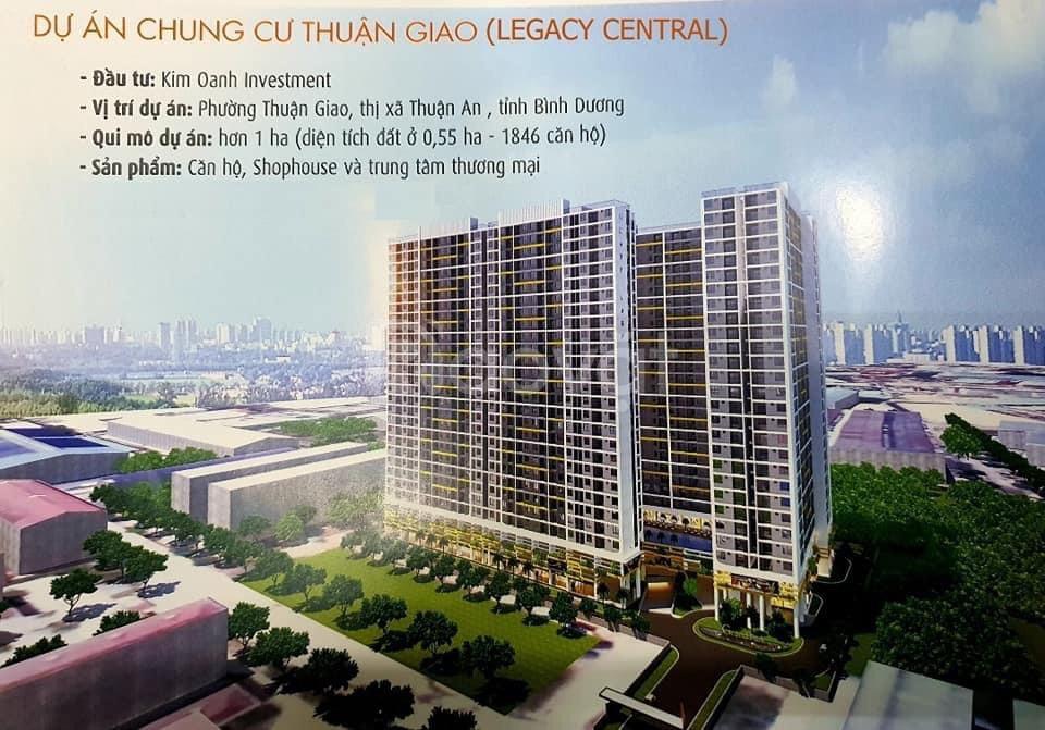 Căn hộ xây mới Legacy Central, sở hữu ngay tại Bình Dương