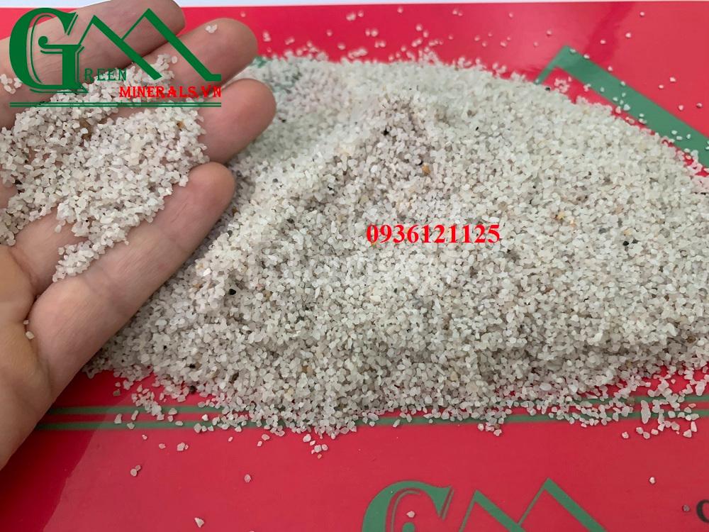 Cát thạch anh sử dụng trong lọc nước