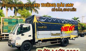 Bán xe Hino nhập khẩu 3T5 thùng dài 5m7 rẻ