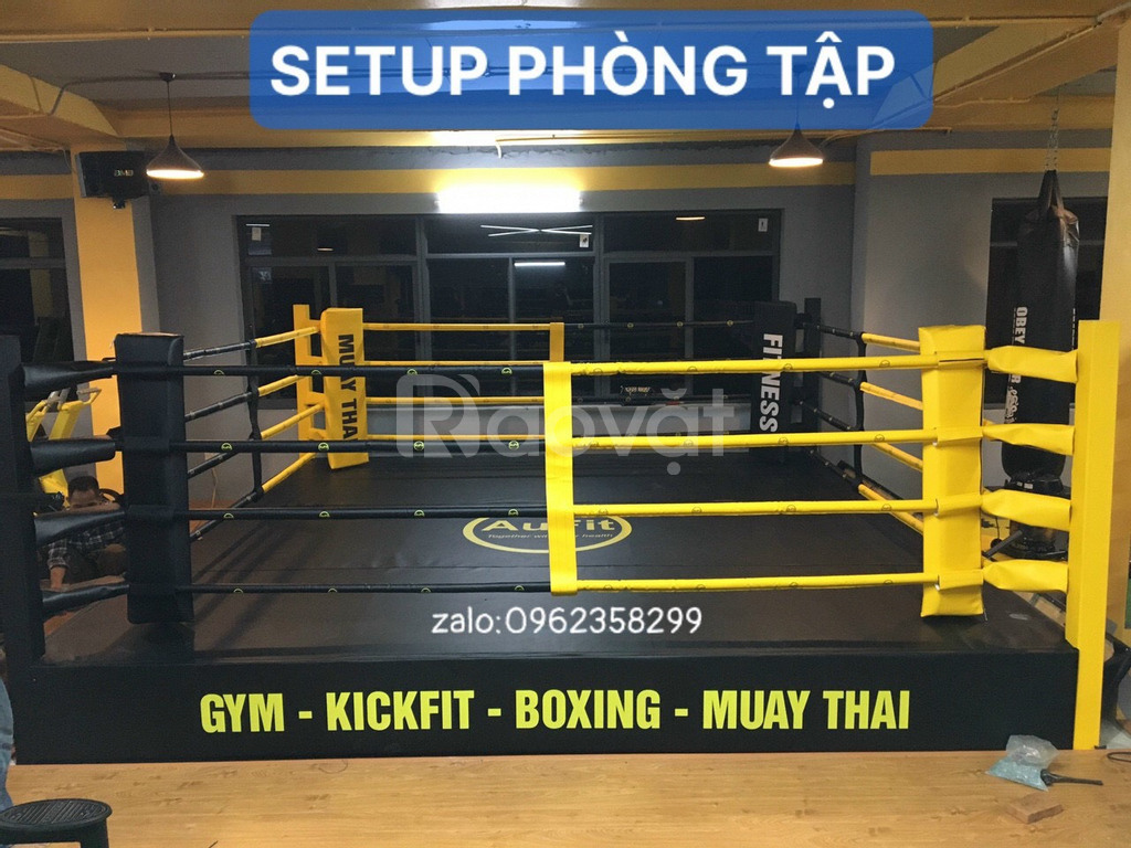 Setup phòng tập Boxing, Kickfit, Yoga từ A đến Z