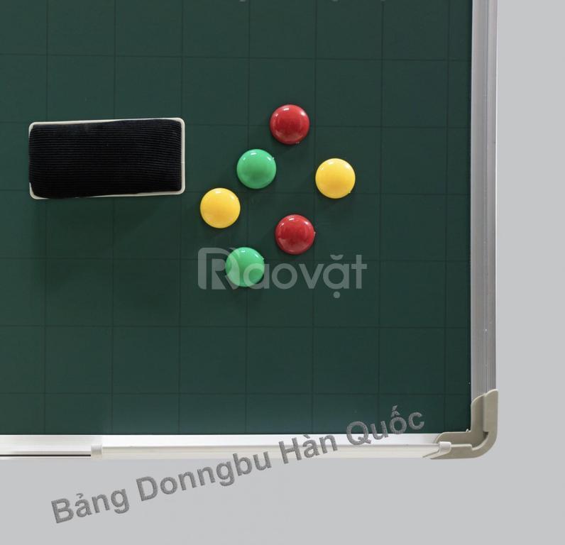 Bảng viết phấn từ xanh Hàn Quốc treo tường giá rẻ, tặng kèm phụ kiện