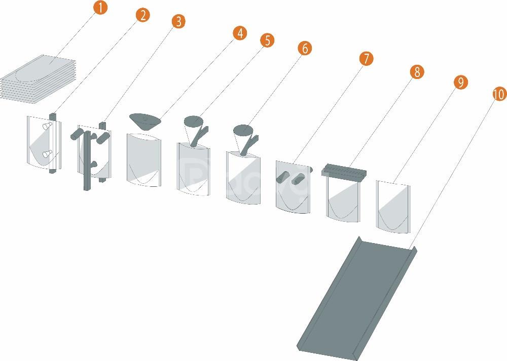 Máy đóng gói dạng bột thiết kế bao bì độc đáo và mẫu mã đa dạng