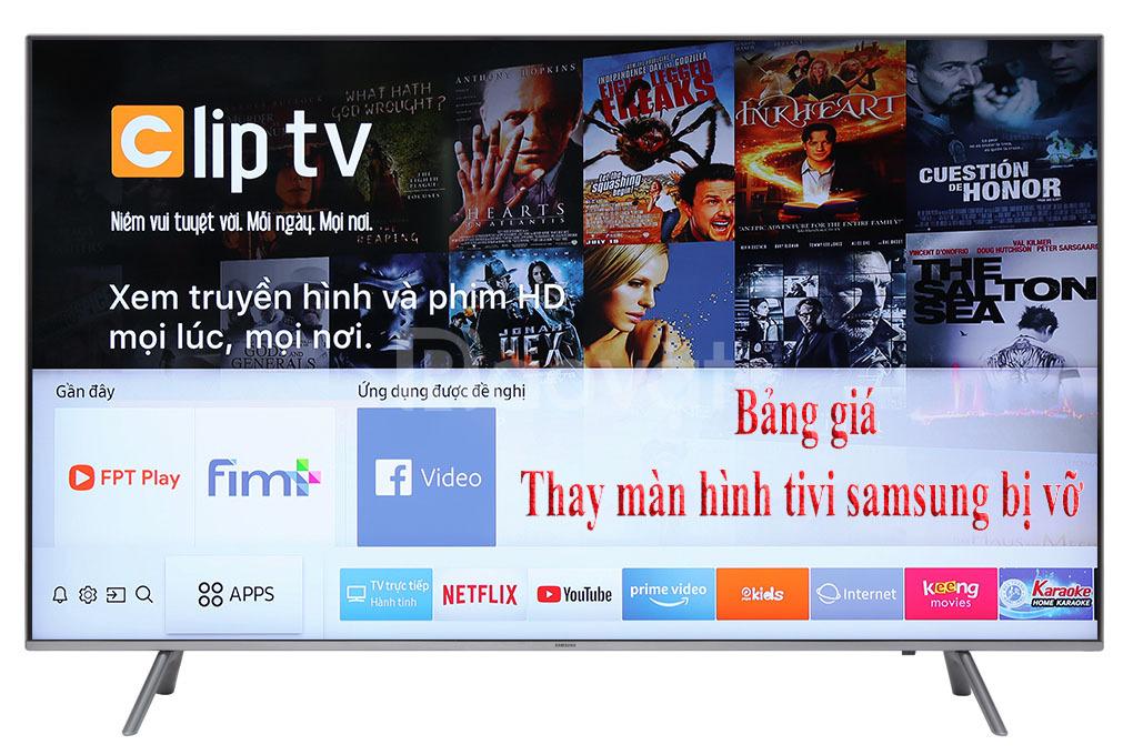 Thay màn hình tivi 4K, Qled bị vỡ, bể màn hình
