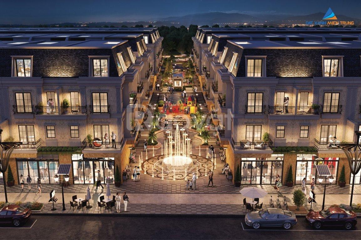 Shophouse 5* Regal Pavillon, phố đêm thương mại bên sông Hàn, Đà Nẵng