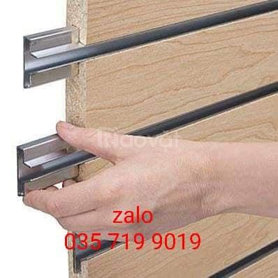 Nhôm T cài rãnh tấm gỗ