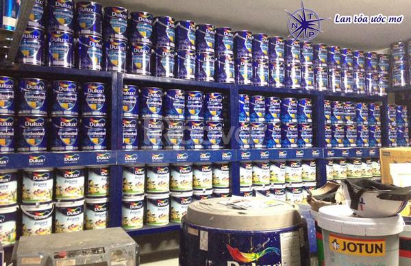 Đại lý phân phối sơn Dulux tại HCM