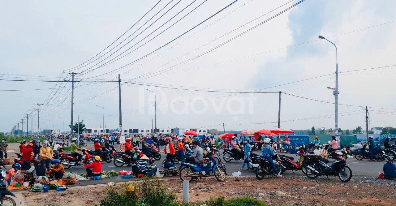 Bán đất chợ Bàu xéo quốc lộ 1 trảng bom 100m2