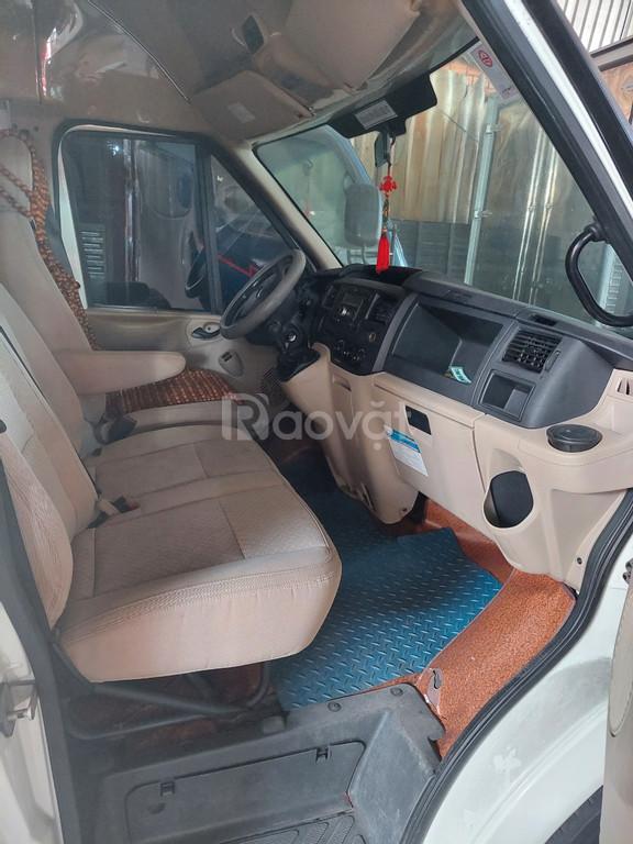 Bán xe Ford Transit 15 chỗ màu trắng ĐK 2/2017