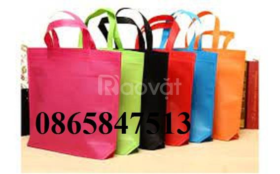 Chuyên cung cấp vải không dệt pp để làm túi siêu thị giá rẻ