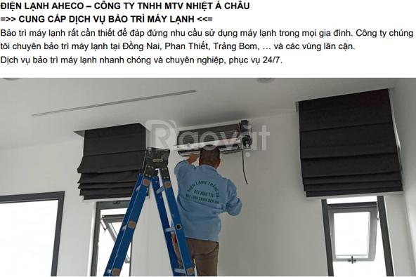 Bảo dưỡng, vệ sinh máy lạnh tủ lạnh máy giặt Biên Hòa