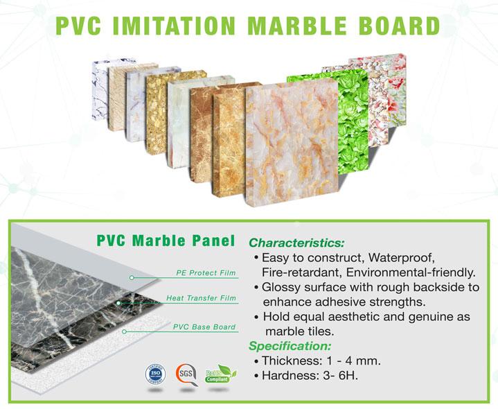 Thông báo giá sản phẩm tấm ván nhựa, tấm nhưa PVC