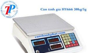 Cân tính giá HY666 là dòng cân tính giá tiền có tải trọng cân 30kg