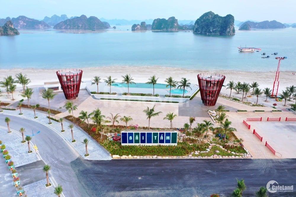 Đất nền biệt thự ven Vịnh Bái Tử Long Vân Đồn, chỉ 28tr/m2, đã có sổ
