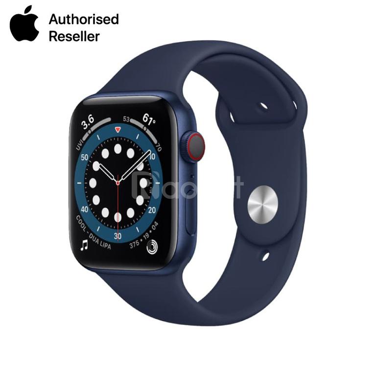 Apple Wacth Seri 6 GPS 44mm Blue nguyên seal chưa active