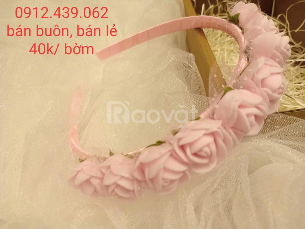 Thiết kế, bán buôn, bán lẻ phụ kiện thời trang handmade