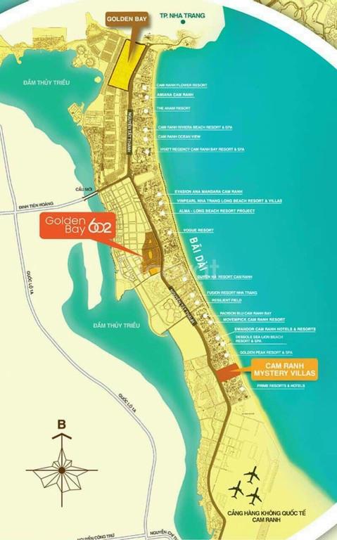 Đất nền Cam Ranh Golden Bay 602