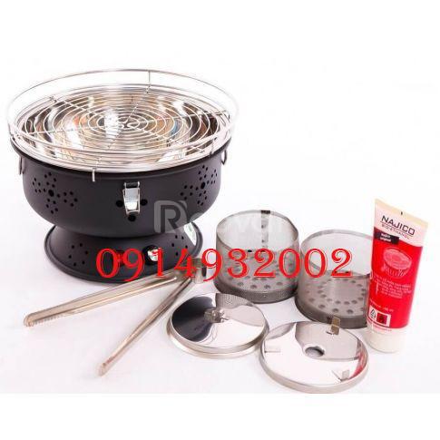 Bếp nướng than hoa, bếp nướng không khói Nam Hồng BN300