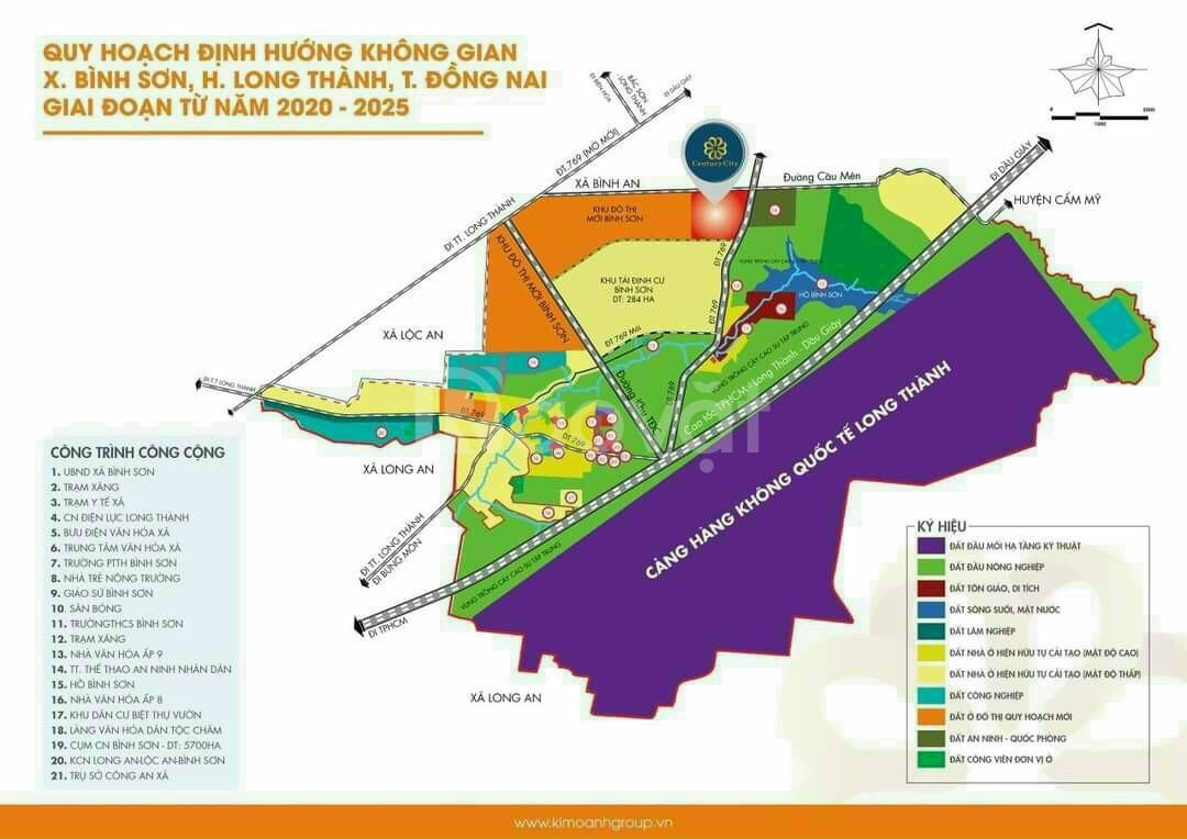 Bán đất thổ cư Long Thành, sổ riêng, hỗ trợ vay 70%