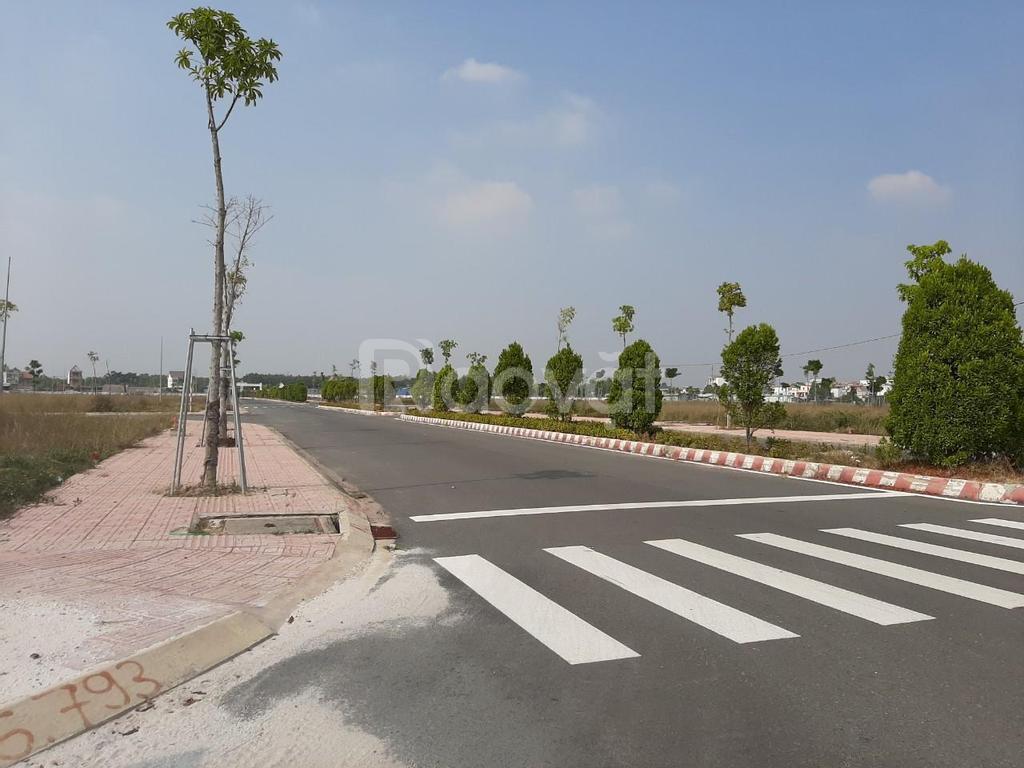 Bán đất chợ Bến Cát mặt tiền đường Hùng Vương 100m2 sổ hồng sẵn