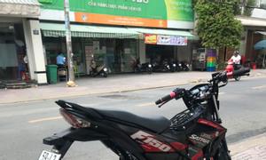Suzuki Satria odo 7K máy zin bốc