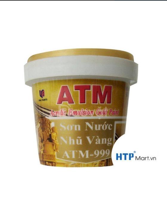 Đại lý chuyên cung cấp sơn nước nhũ vàng ATM 999 giá rẻ toàn quốc