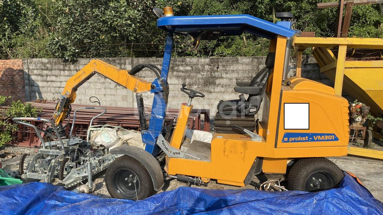 Bán xe lát gạch con sâu Probst VM-301
