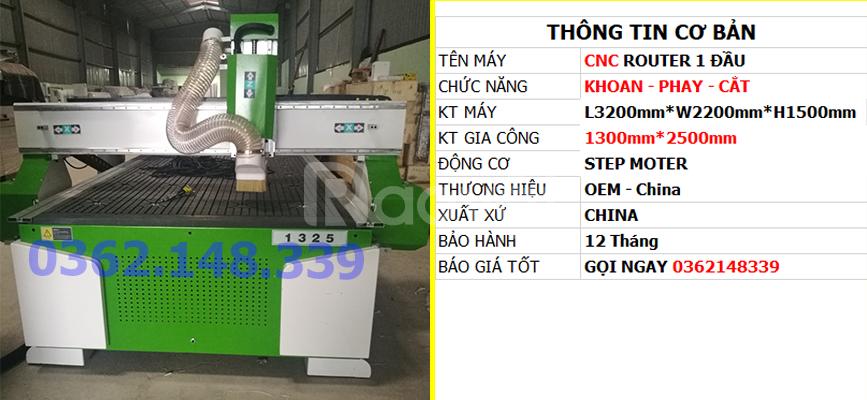 Phân phối máy CNC Router 1 đầu uy tín, giá rẻ tại Dĩ An Bình Dương
