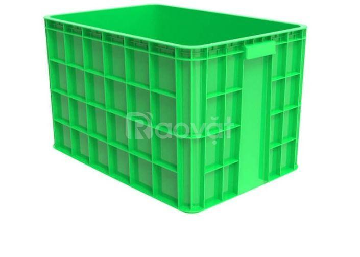 Thùng nhựa bít 3T9, rổ nhựa bít 3T9