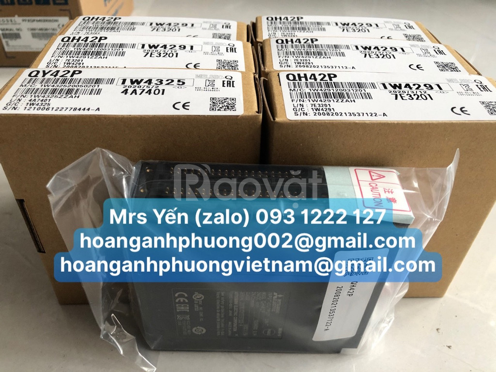 Mô đun mở rộng I/O PLC Mitsubishi QH42P QX42 QY42P