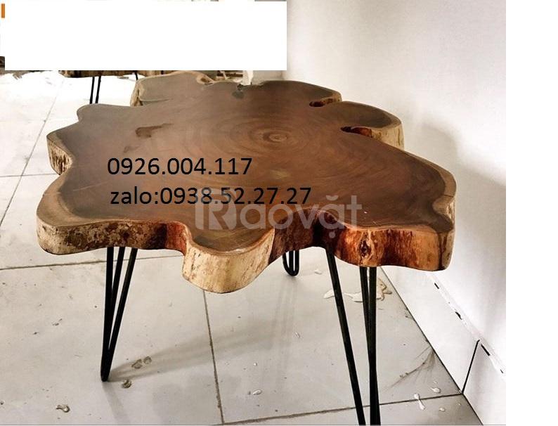 Cung cấp bàn trà gỗ khối, me tây