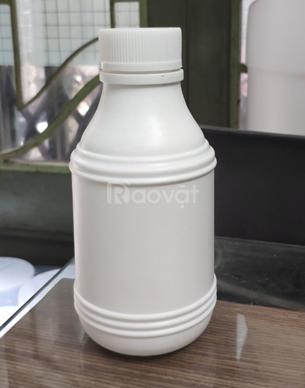 Bán chai nhựa 500ml HDPE, thân chai dày dặn, nắp garenty