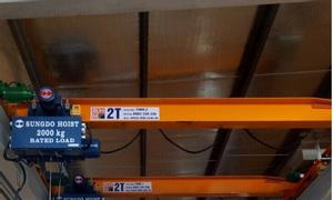 Tời điện cầu trục Sungdo Hàn Quốc 1 tấn, 2 tấn, 3 tấn, 5 tấn 6m, 12m