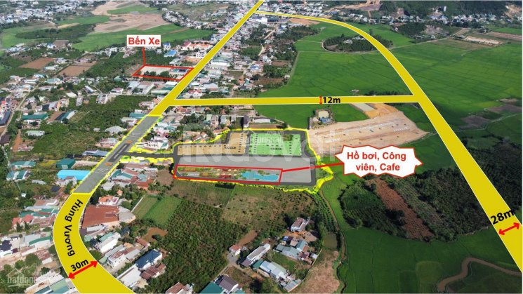Bán đất gần sân bay Liên Khương ngay Đà Lạt, mặt tiền đường nhựa