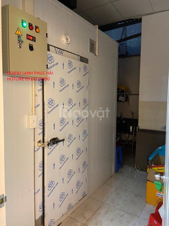 Lắp kho lạnh bảo quản thực phẩm