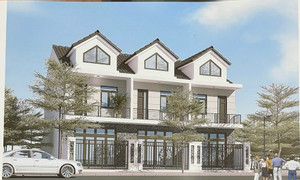 Cần bán 3 căn nhà liền kề 1 trệt 1 lầu 1 áp mái, DT đất mỗi căn 65m2