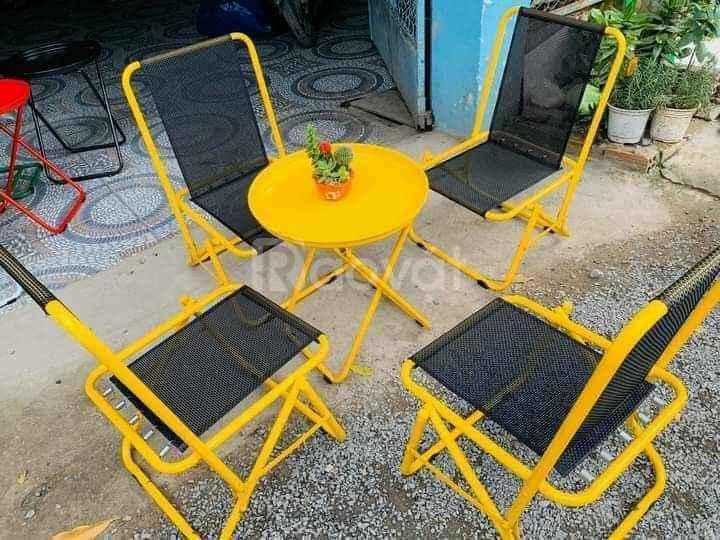 Chào bán ghế xếp lưng tựa cao giá rẻ tại TPHCM