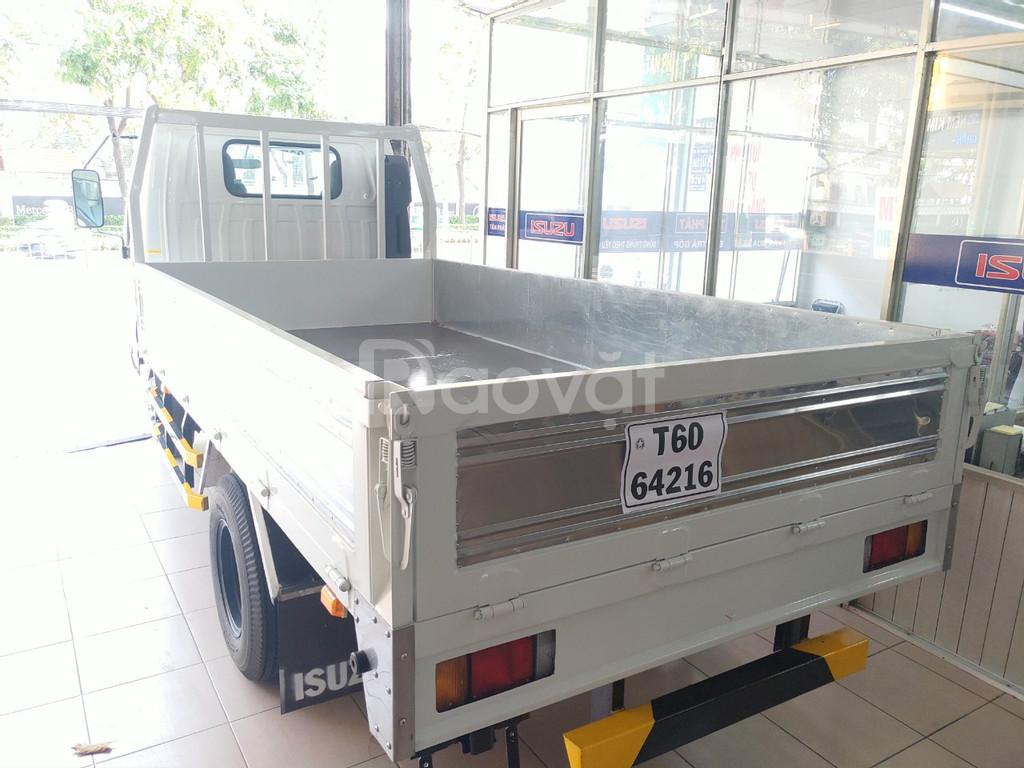 ISUZU 2T5 thùng Lửng 3m6, KM máy lạnh, 12 phiếu bảo dưỡng